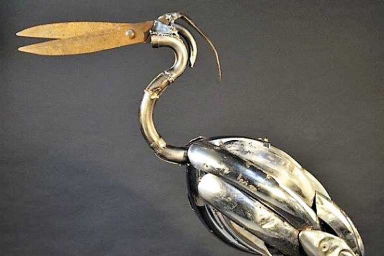 Nicolas Crozier, l'Art de la Récup