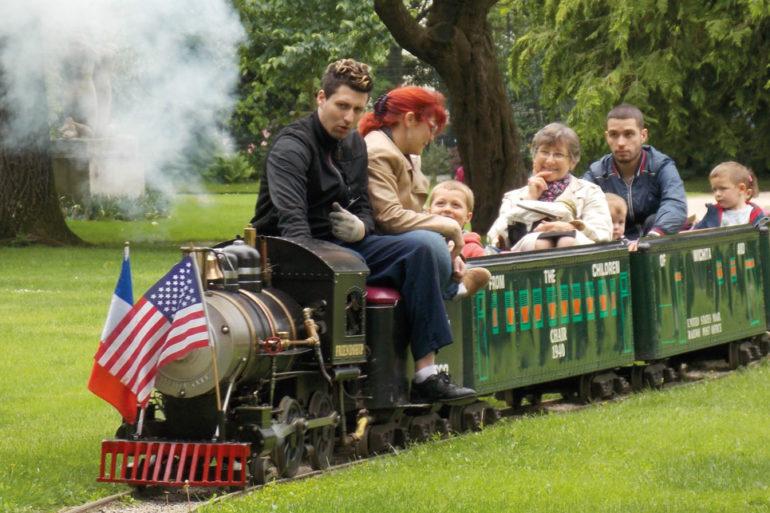 Le Petit Train du Parc Pasteur, retour en enfance