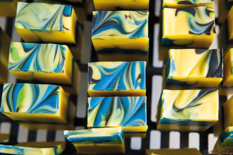 Du bio et de l'art dans un savon !