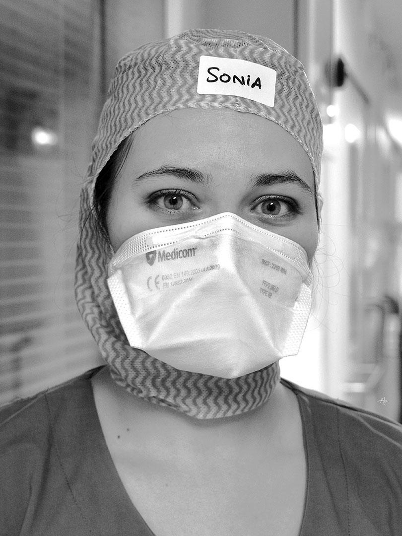 Sonia aide-soignante