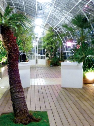 La Jardin des Plante & la Serre, Lieux d'exception
