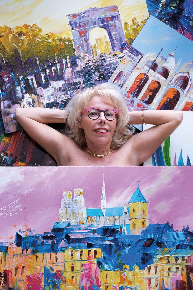 Anne-Marie Turbat Lam, Artiste Peintre