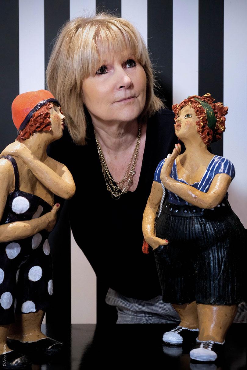 Annick-chesneau, Sculptrice