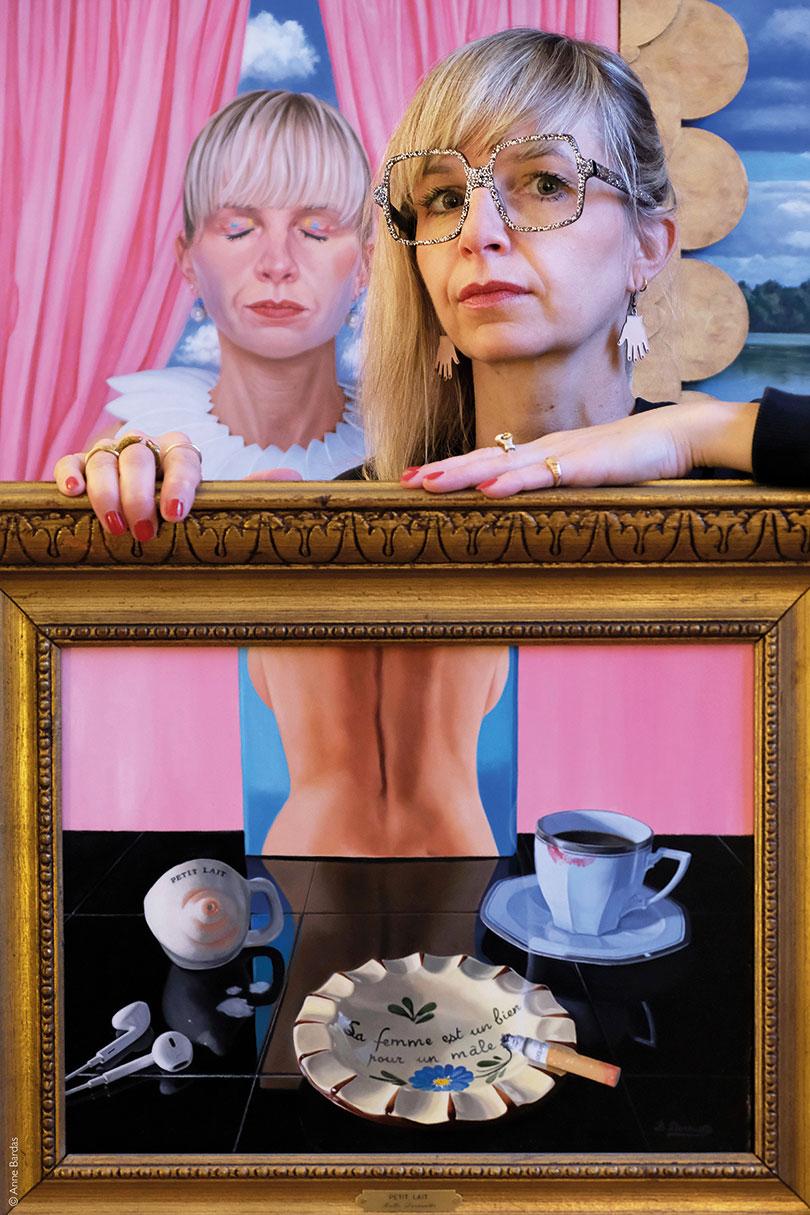 Bulle Derouette, Artiste Peintre