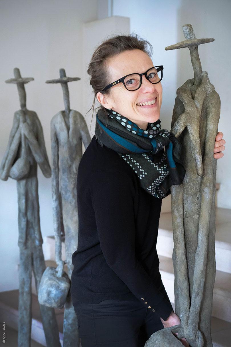 Claire Boris, Sculptrice