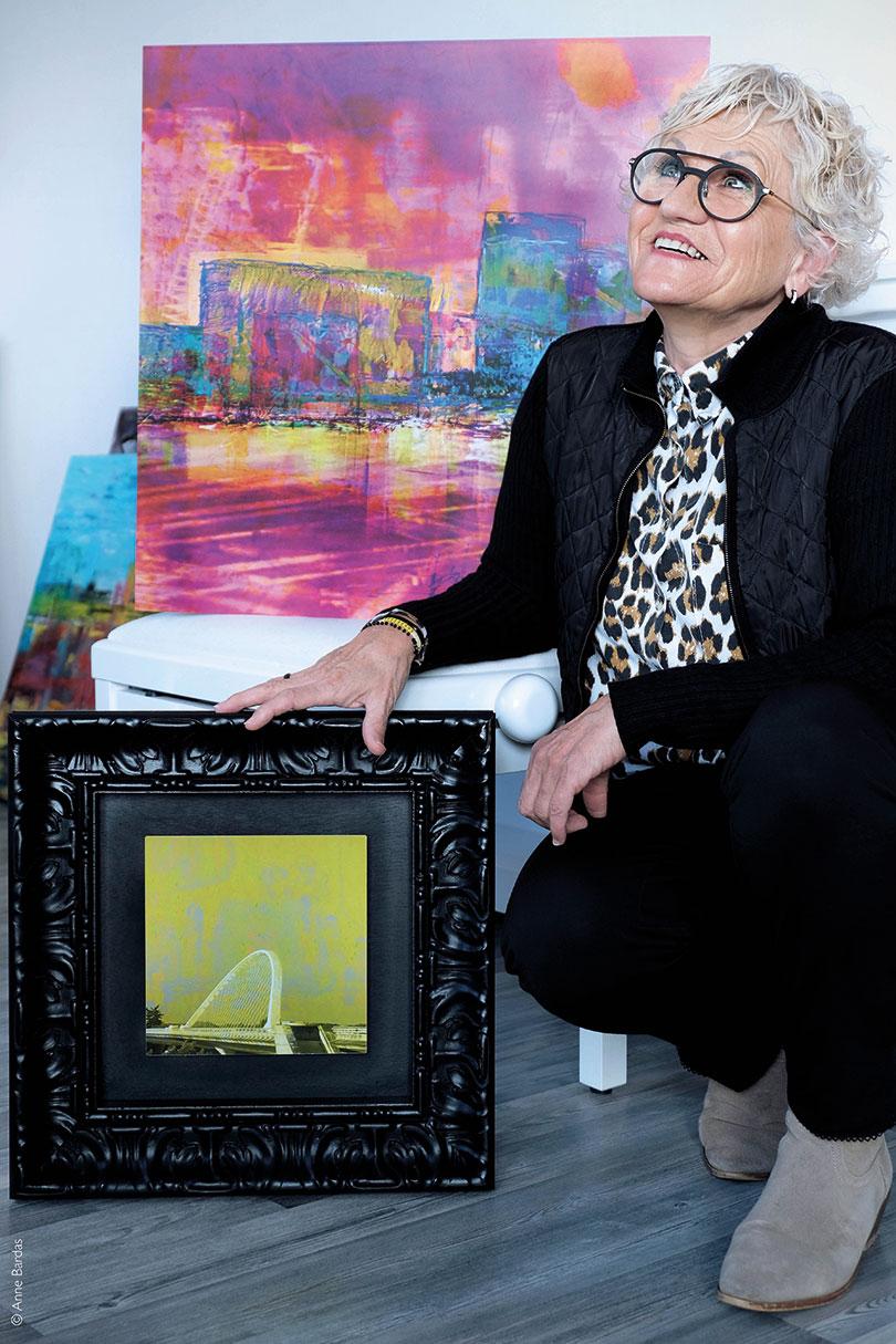 Colette Mâchard-Sevestre, Artiste numérique