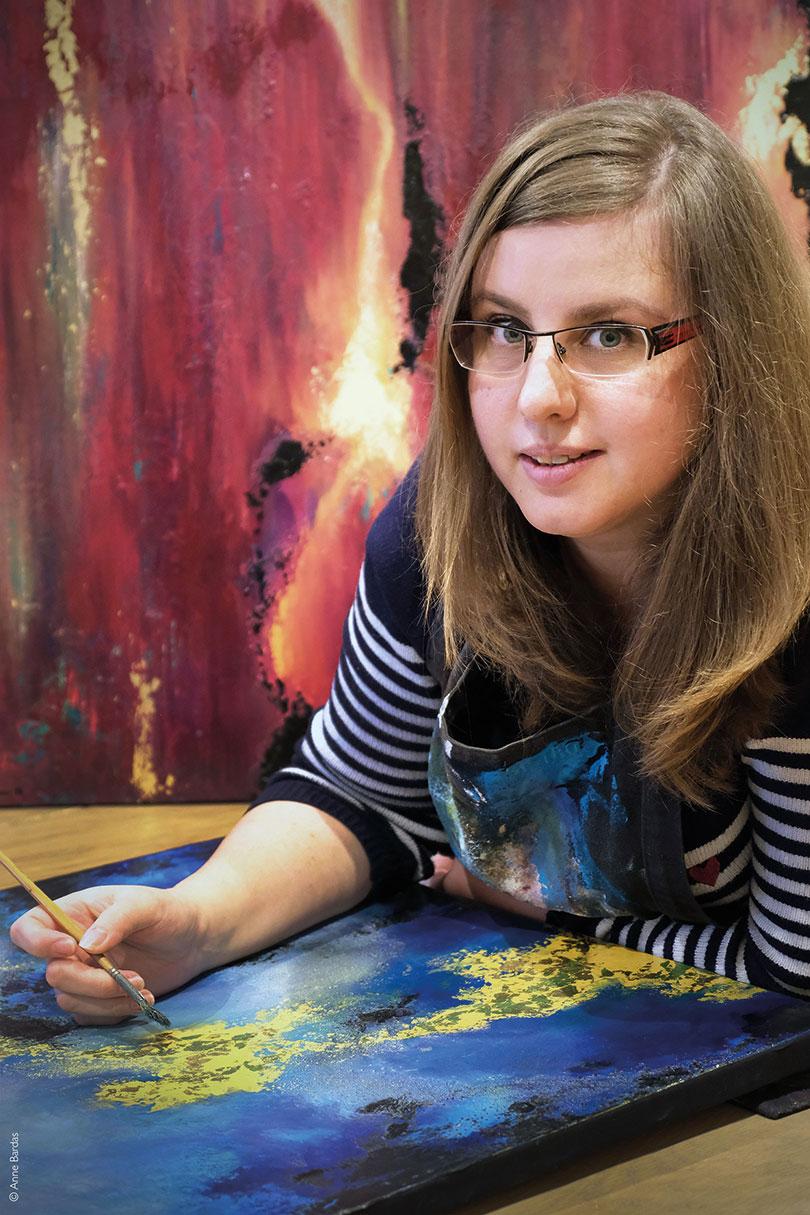Laetitia Guillon, Artiste Peintre