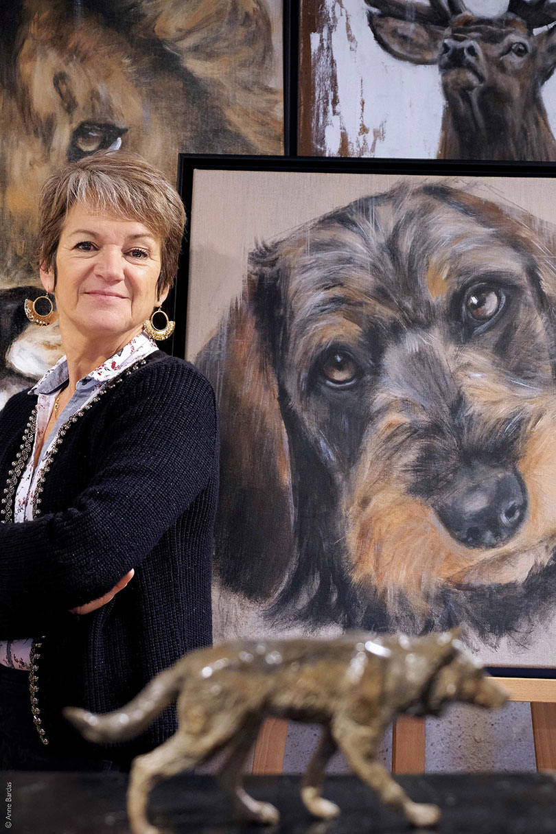 Marie-Joëlle Cédat, Artiste Peintre & Sculptrice