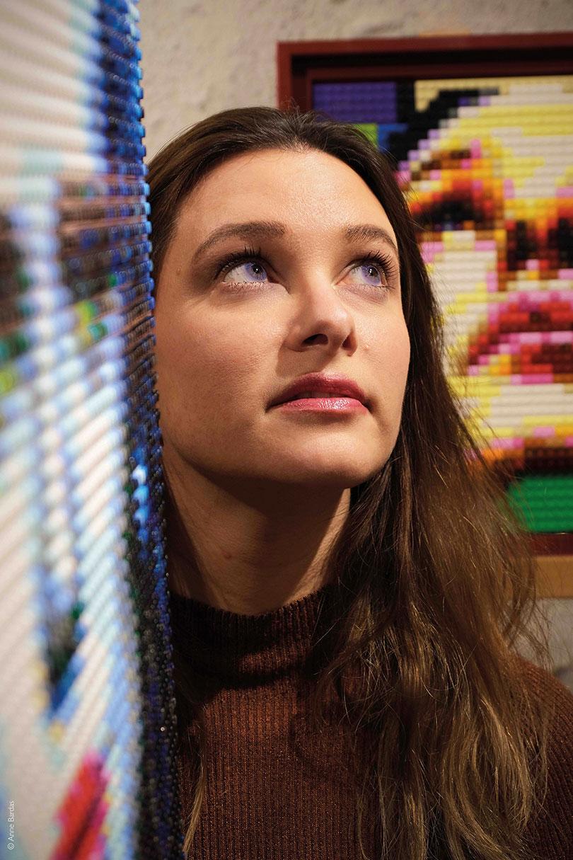 Lucie Moulin, Artiste LegoPop
